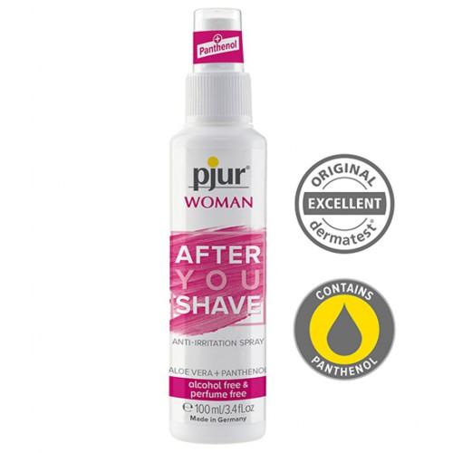 Spray po goleniu dla kobiet - Pjur...