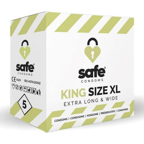 Prezerwatywy - Safe King Size XL...