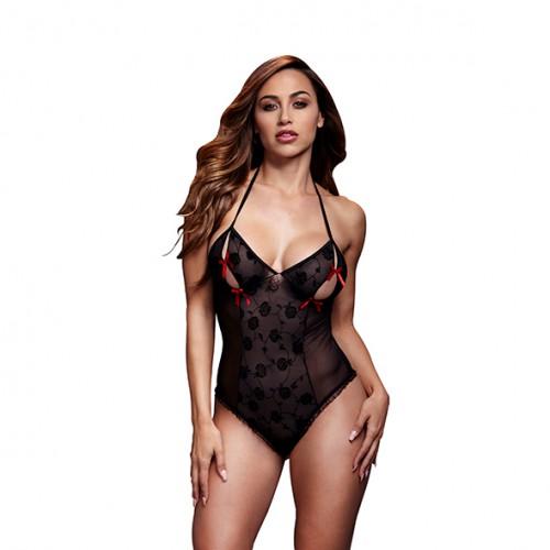 Body One Size - Baci Black Lace...