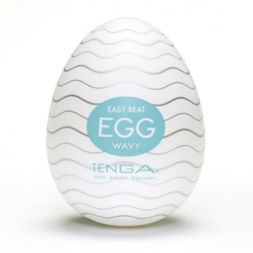 Japoński masturbator - Tenga Egg Wavy...