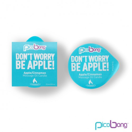 PicoBong - Świeca do masażu - Apple &...