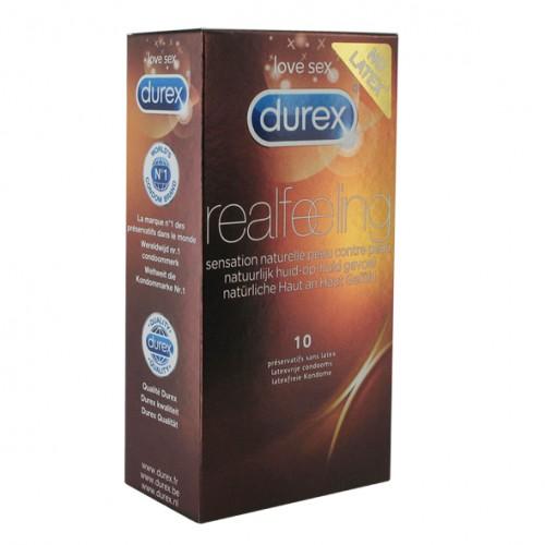 Prezerwatywy naturalne - Durex Real...