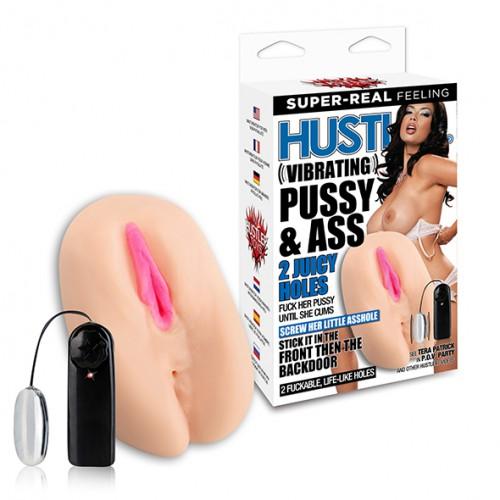 Masturbator - Hustler Vibrating Pussy...