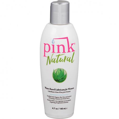 Lubrykant wodny - Pink Natural 140 ml
