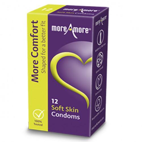 Prezerwatywy - MoreAmore Condom Soft...