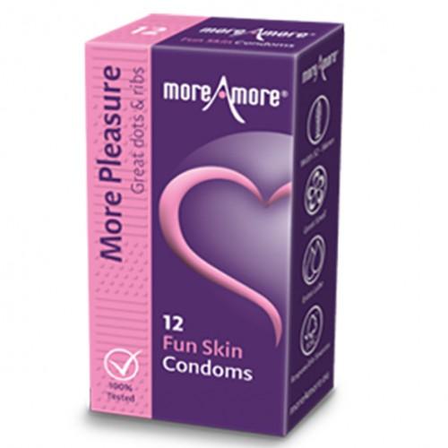 Prezerwatywy - MoreAmore Condom Fun...
