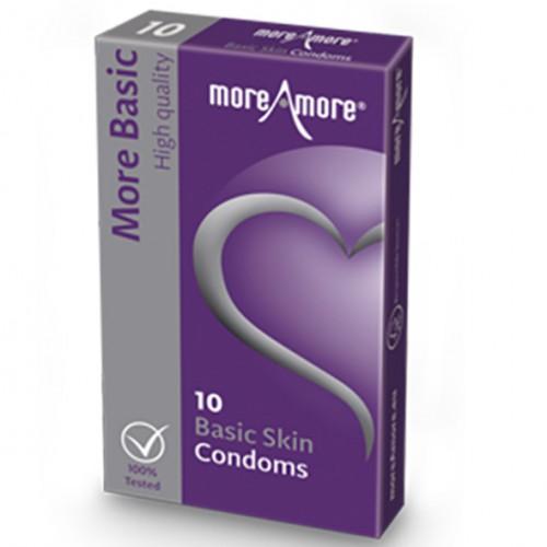 Prezerwatywy - MoreAmore Condom Basic...